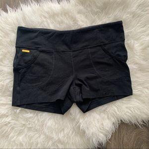 Lole black shorts. Lole black pocket shorts